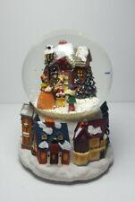 Christmas Musical Snow Globe Plays Silent Night NEW