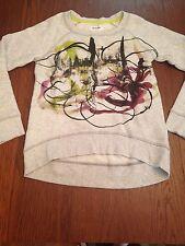 Women's Proenza Schouler for Target/Neiman Marcus Gray Graphic Sweatshirt NWT XS