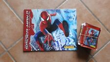 50 BUSTINE TUTEN PACKET NUOVE FIGURINE PANINI + ALBUM THE AMAZING SPIDER MAN 2