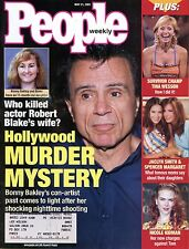 People Mag May 21, 2001 Who Killed actor Robert Blake's wife