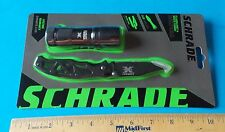 NEW! SCHRADE X TIMER FLASHLIGHT AND FOLDING KNIFE COMBO! RHETT STIDHAM ESTATE