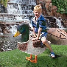 """NE150003 - """"Massive Mallard Duck"""" Statue - Garden, Yard - New!"""