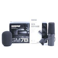 Shure SM7B Dynamic Cardioid Microphone MC-3021