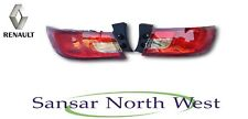 NEW Genuine Renault Clio IV - Pair Of Rear Outer Tail Lights Lamps - Set of 2