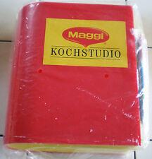 MAGGI REZEPT ORDNER in OVP-in typisch Maggi Farben-gelb und rot-25 x 22 x 11,9cm