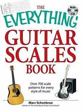 Everything®: Guitar Scales Book : Over 700 Scale Patterns for Every Style of...