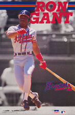 POSTER : MLB BASEBALL : RON GANT - ATLANTA BRAVES    FREE SHIPPING !      RW12 B
