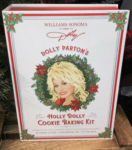 Dolly Parton Holly Dolly Holiday Cookie Baking Kit Christmas at Dollywood Movie