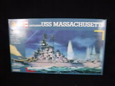 Battleship USS Massachusetts - 1:720th Scale Model Kit. Revell 05031