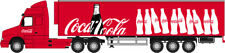 Oxford 1/50 Coca-Cola Volvo NH12 & Fridge Trailer # CR043CC