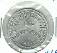 Beech Creek, Kentucky Coal Scrip Token KIRK MERCANTILE CO.  10¢