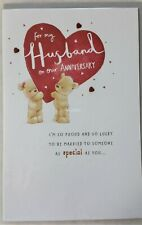 To My Husband Anniversary Card 15x23cm