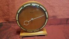 Kienzle Henrich Moller Art Deco Design Teak Mantel Clock