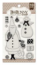 BoBunny Clear Acrylic Stamps Holly Jolly  BoBunny 2016