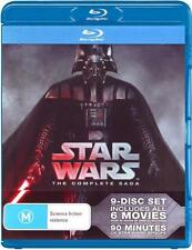 Star Wars Complete Saga Blu-ray NEW (Episodes 1 2 3 4 5 6) Menace to Return Jedi