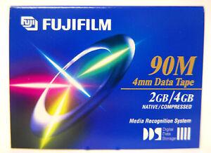 8 New FujiFilm DDS DAT 90M 4mm 2/4GB Metal Tape Data Cartridges High Quality