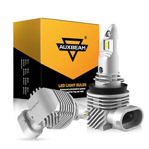 AUXBEAM H11 H8 H9 6400LM Auto LED Fog Light Bulbs Kit Car Lamp Replace Halogen