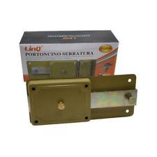 serratura per porta garage portoncino con 3 chiavi scrocco e ane lin 022266