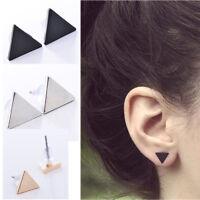 Frauen Punk Style Einfache Dreieck Ohrring Street Style Ohrstecker Ohrringe  Pj