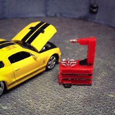 1/64 Tire Changing Machine Miniature Diorama Garage Slotcar Accessory