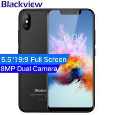 3G Teléfono Móvil Libre 5.5'' Blackview A30 Smartphone 16/2GB FACE ID 2 Nano SIM