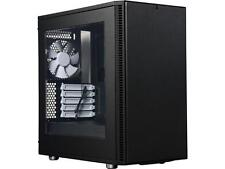 Fractal Design Define Mini C Black Window Silent Compact MATX Mini Tower Compute
