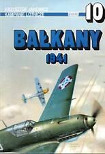 AJ PRESS - Monografia n. 10 (1996) - CAMPAGNA AEREA BALCANI 1941 in polacco