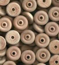 24~1-1/4 inch Wood Toy Wheels with Wooden Axle Pegs
