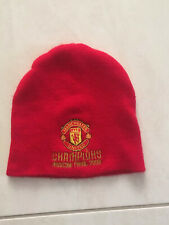 Manchester United 2008 Uefa Champions League Winners Moscow Beanie Hat