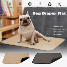 Waterproof Pet Pee Pads  Reusable Puppy Dog Diaper Urine Mat Cat Training Pad-