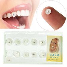 10 pcs Dental Crystal Tooth Ornaments Tooth Gems Teeth Jewelry Gem
