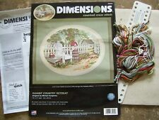 Lot of 2 Assorted Dimensions Counted Cross Stitch Kits