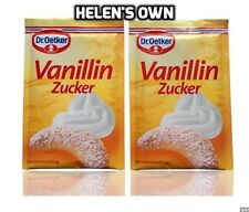 Dr Oetker azúcar de vainilla, comprar a granel y guardar! 20 X 8g = 160g Pack, ideal para hornear!
