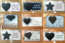 Wooden Rectangular Decorative Hanging Signs