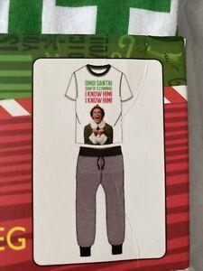 Buddy the Elf Pyjama Men's Set Size S Or XL BNWT