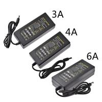AC 110V-220V TO DC 12V 3/4/6A Power Supply Adapter Transformer LED Strip Light