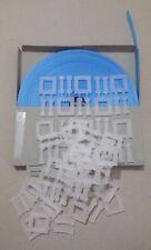 BLUE Parcel Strapping kit: 50m x 12mm, 150kg brake + 20x plastic buckle