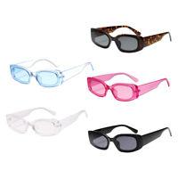 Frauen Mens Square Sonnenbrillen Fashion Candy Farbe Sonnenbrille Shade