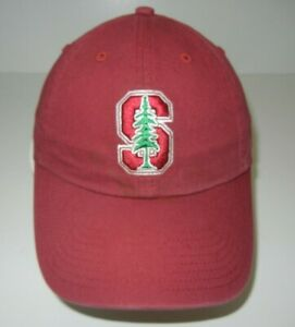 STANFORD CARDINAL Red Football COLLEGE BASEBALL HAT Team Fan Kid Cap YOUTH SIZE
