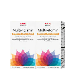 GNC Women's Energy & Metabolism Multivitamin, 180 Caplets