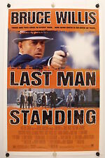 LAST MAN STANDING - Bruce Willis - Original NSS Movie Poster 1996 SS C9