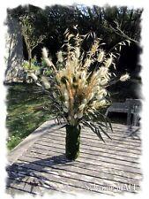 bouquet de fleurs séchées et végétaux stabilisés
