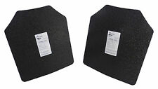 "Pair Level III AR500 Steel Armor Two 10"" x 12"" Plates - Quick Ship"