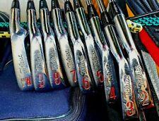 RARE Titleist Golf ACUSHNET PRO 100 Iron Set 2-PW Right Handed Steel Stiff Used