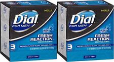 6 Bars Dial Men Sub Zero Fresh Reaction Revitalizing Micro-Infused Scent Technol