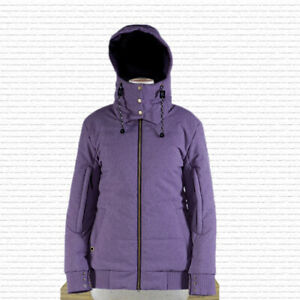 Ride Capp3l Blackmail Insulated Snowboard Jacket Womens Medium Orchid New