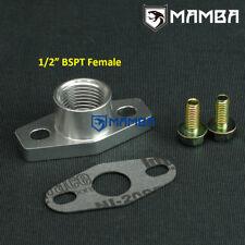 """1/2"""" BSPT Female Turbo Oil Return Drain Flange DSM 4G63T 1G 2G EVO 3 / 4-9 / 10"""