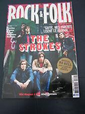 Rock & Folk 2006 461 THE STROKES BREEDERS JIMI HENDRIX BUST THEORY NINA ROBERTS