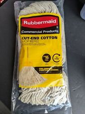 Lot Of 6 Rubbermaid #16 Mop Head Refill Floor Cleaner 1887076