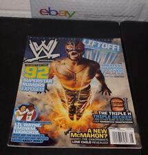 WWE MAGAZINE--------------REY MYSTERIO---------------AUGUST 2009